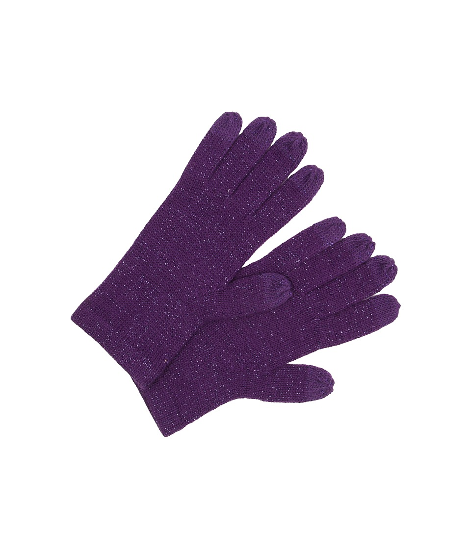 UGG - All Over Lurex Tech Glove (Bilberry Multi) Wool Gloves