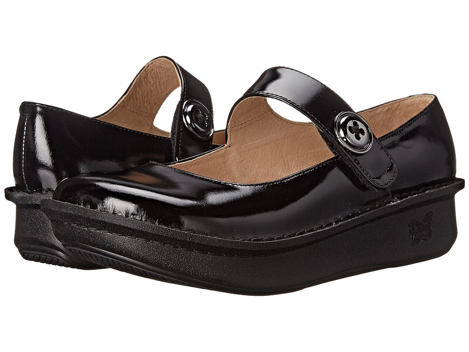 Alegria - Paloma Pro (Black Waxy) Women's Maryjane Shoes