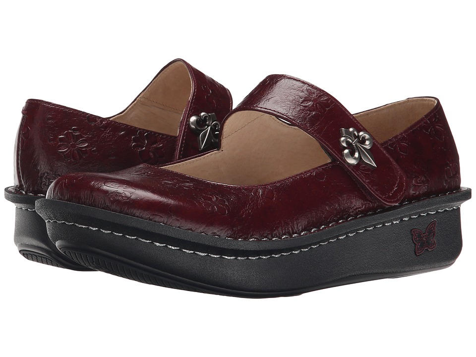 Alegria - Paloma Pro (Wine Fleur) Women's Maryjane Shoes