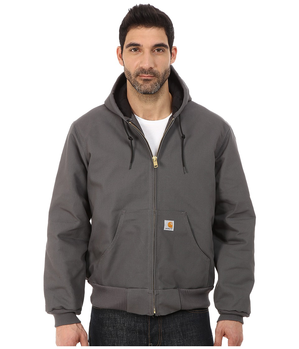Carhartt - QFL Duck Active Jacket (Gravel) Men's Coat