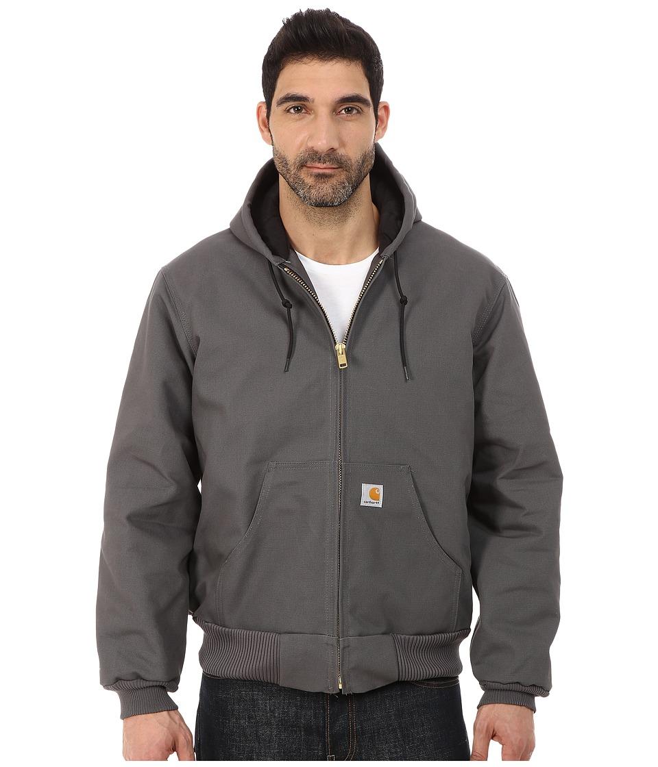 Carhartt - QFL Duck Active Jacket (Gravel) Men's Coat