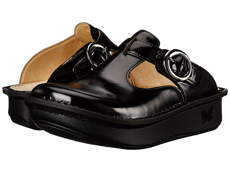 Alegria - Classic Pro (Black Waxy) Women's Clog Shoes