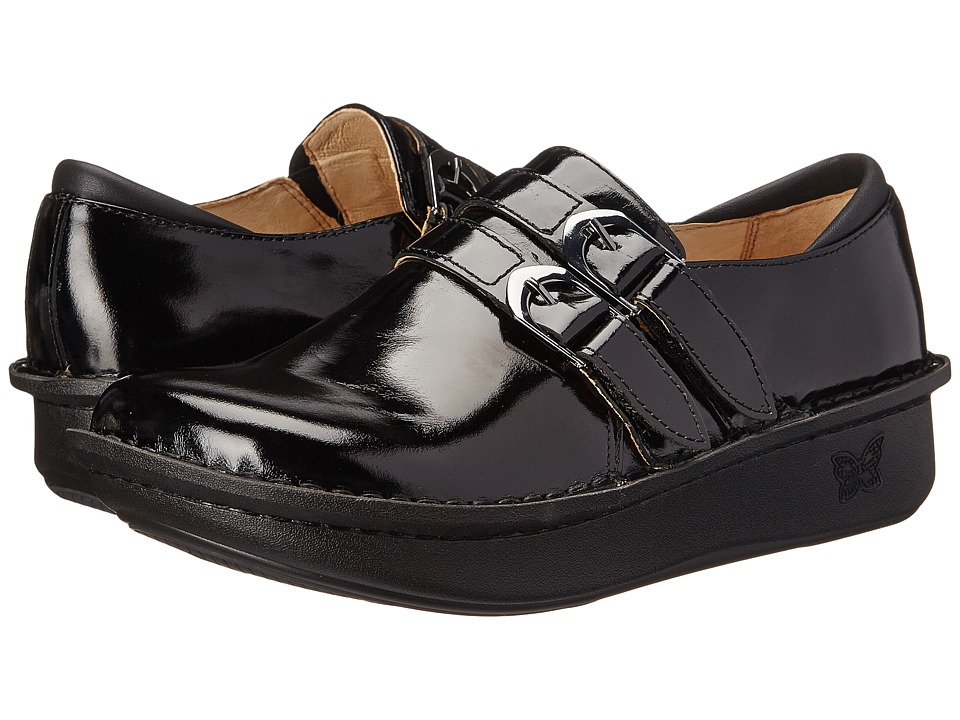Alegria - Alli Professional (Black Waxy) Women's Clog Shoes