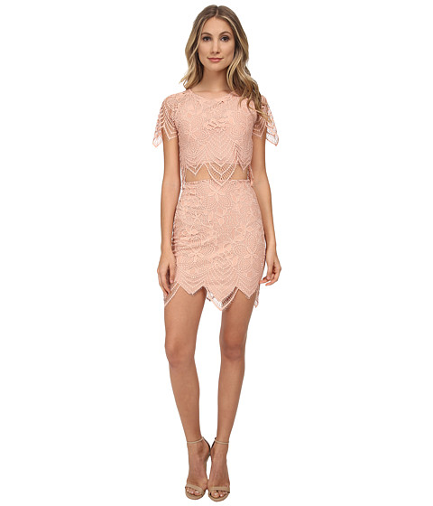 For Love and Lemons - Guava Skirt (Pale Blush) Women's Skirt