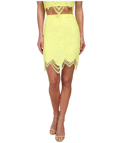 For Love and Lemons - Guava Skirt (Lemon Drop) Women's Skirt
