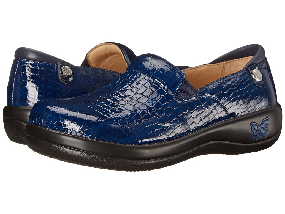 Alegria - Keli Professional (Blue Croco) Women's Shoes