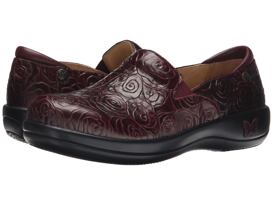 Alegria - Keli Professional (Wine Rosette) Women's Shoes