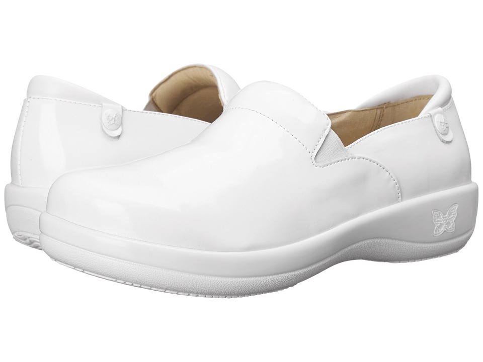 Alegria - Keli Professional (White Waxy) Women's Shoes