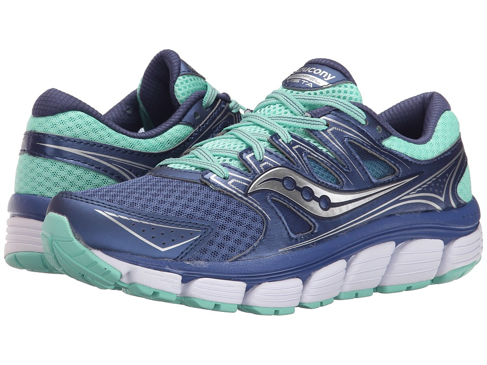 Saucony - Propel Vista (Blue/Green) Women's Shoes