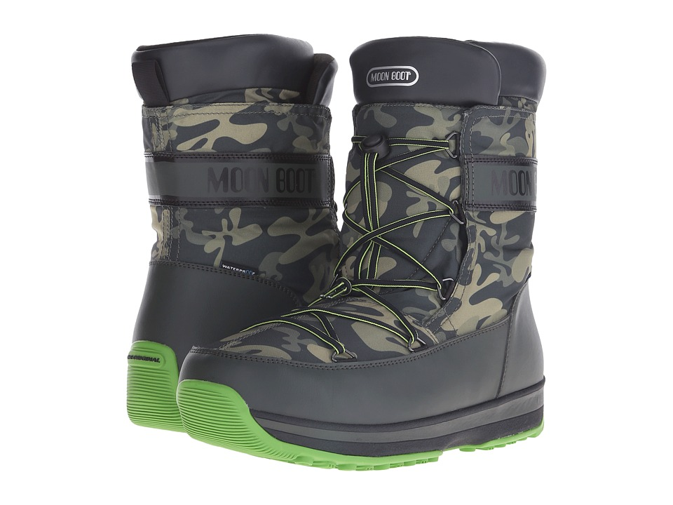 Tecnica Moon Boot(r) Lem Military (Black Camu) Cold Weather Boots