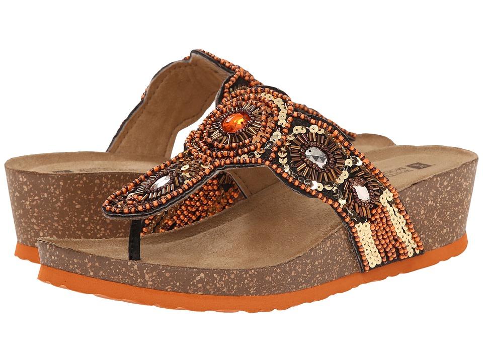 White Mountain - Blast (Orange/Multi) Women's Sandals