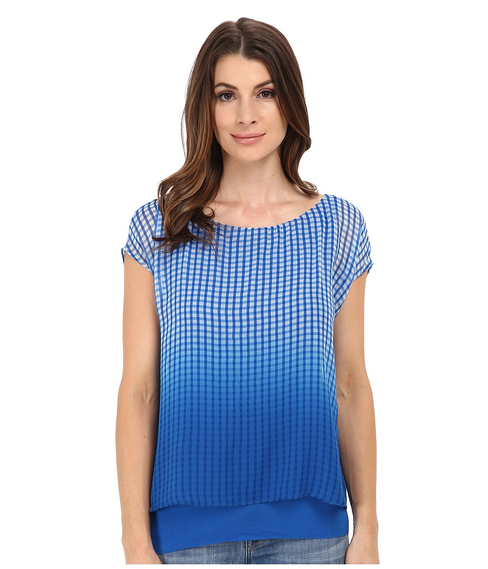 Bailey 44 - Vanishing Act Top (Cobalt) Women's Blouse