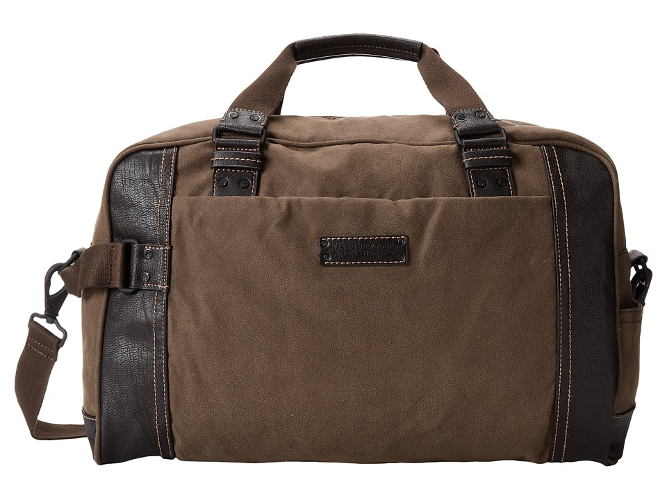 Marc New York by Andrew Marc - Lindburgh Duffle Bag (Brown) Duffel Bags