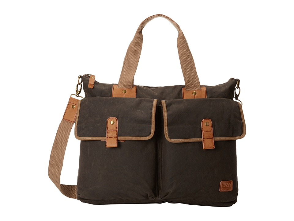 Marc New York by Andrew Marc - Fairfield Satchel (Olive) Messenger Bags