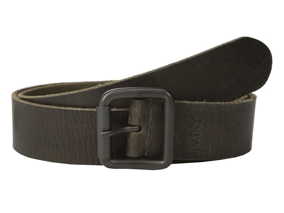 Marc New York by Andrew Marc - 40mm Highroller Belt (Olive) Men's Belts