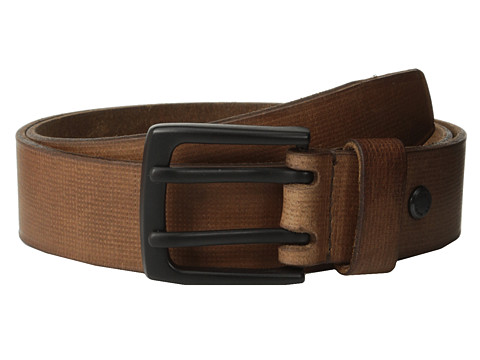 Marc New York by Andrew Marc - 38mm Gridlock Belt (Tan) Men