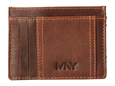 Marc New York by Andrew Marc - Rugged Wash Card Carrier (Brown) Credit card Wallet