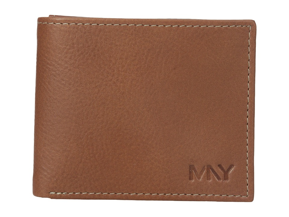 Marc New York by Andrew Marc - Sergio Passcase Wallet (Brown) Wallet Handbags