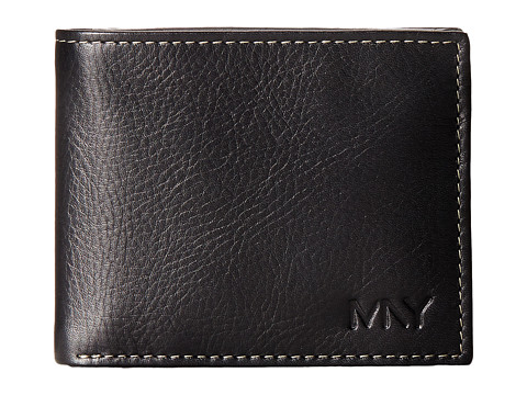Marc New York by Andrew Marc - Sergio Passcase Wallet (Black) Wallet Handbags