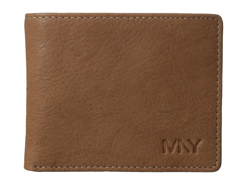 Marc New York by Andrew Marc - 2Tone Washed Passcase (Tan) Wallet Handbags