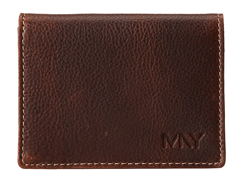 Marc New York by Andrew Marc - Rugged Wash Carry All Wallet (Brown) Wallet Handbags