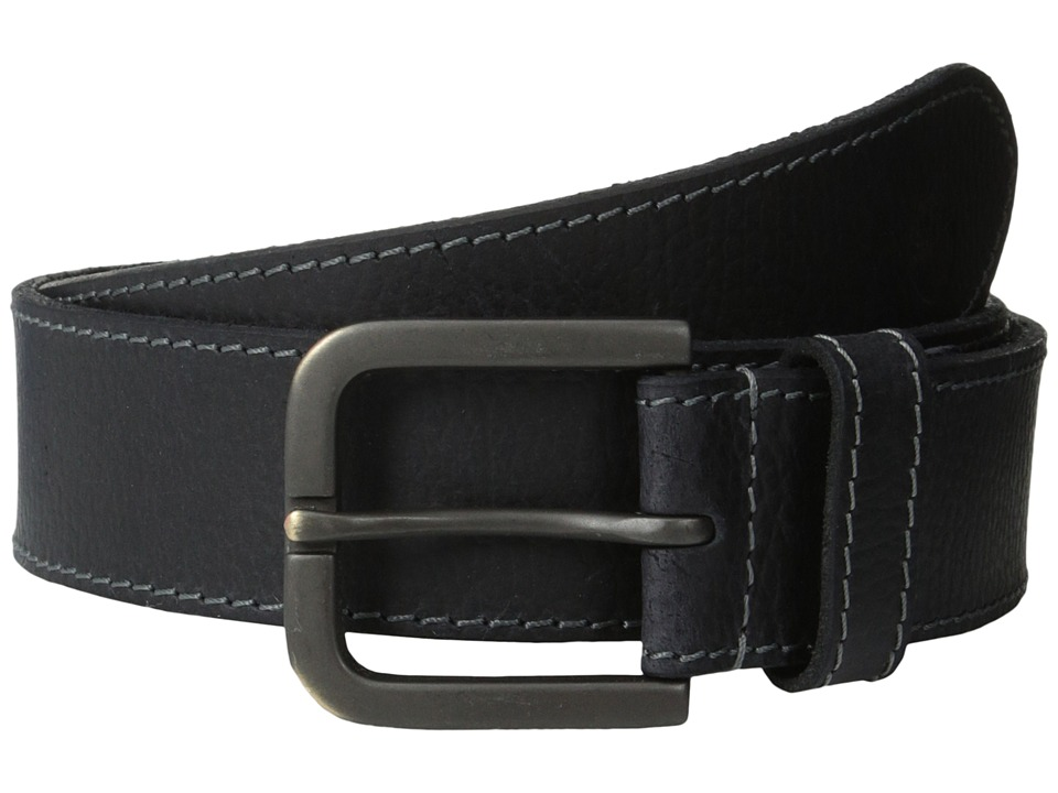 Timberland - 40mm Oily Milled Belt (Black) Men's Belts