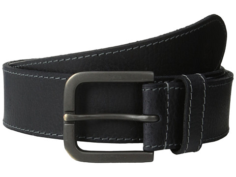 Timberland - 40mm Oily Milled Belt (Black) Men