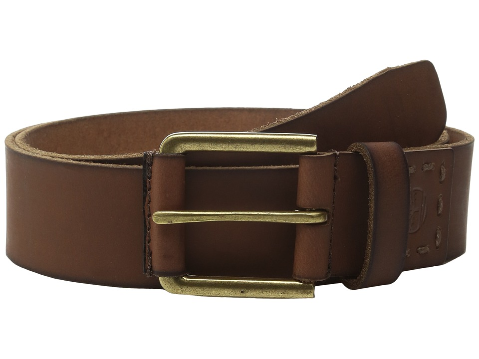 Timberland - 40MM Pull Up Jean Belt (Brown 1) Men's Belts