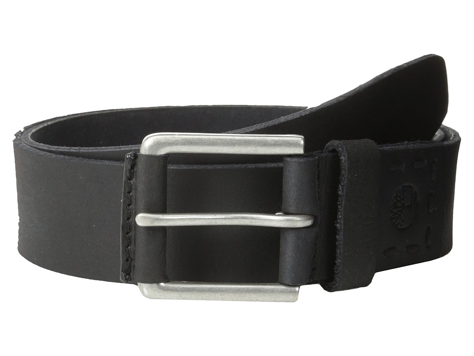 Timberland - 40MM Pull Up Jean Belt (Black 1) Men's Belts