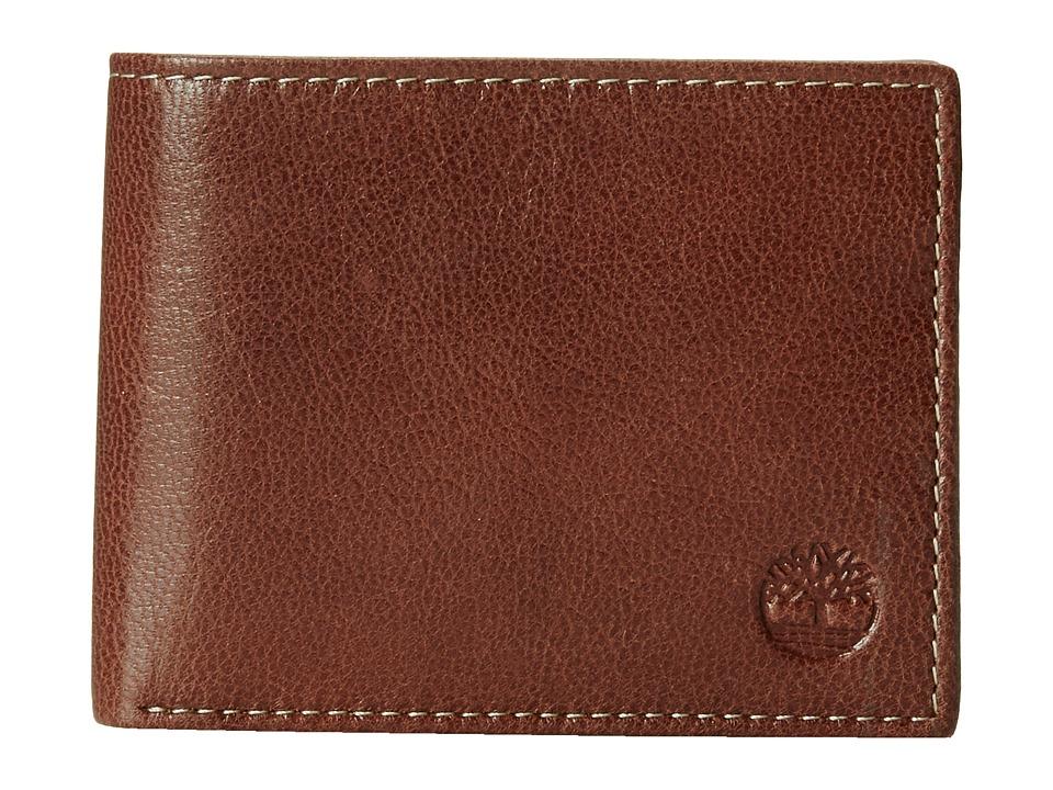Timberland - Hudson Commuter (Cognac) Wallet Handbags