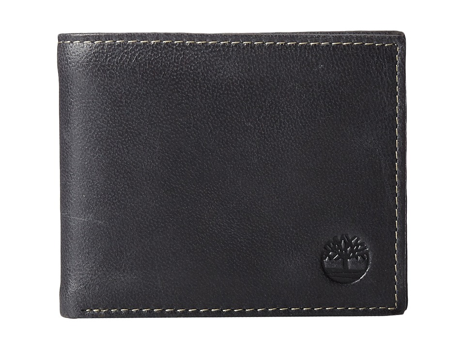 Timberland - Cloudy Passcase (Black) Wallet Handbags