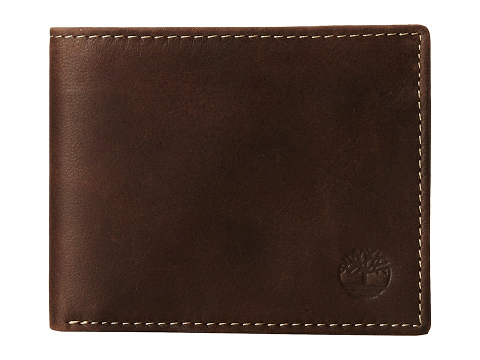 Timberland - Cloudy Passcase (Brown) Wallet Handbags