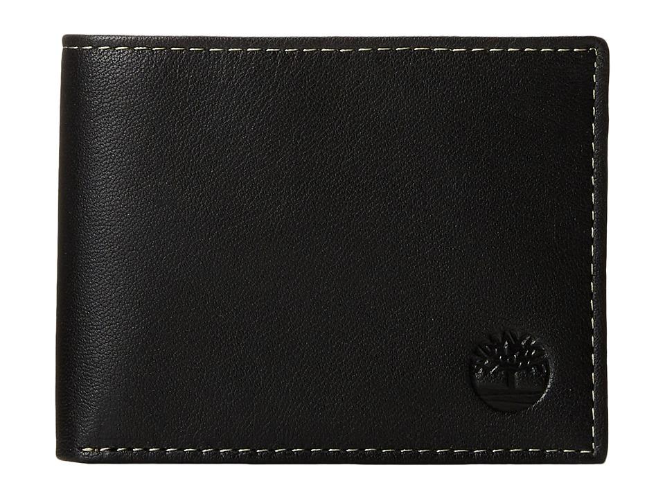 Timberland - Blix Slimfold (Black) Wallet Handbags
