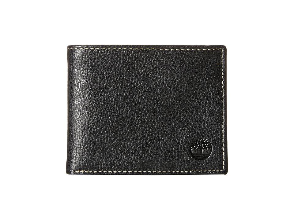 Timberland - Sportz Passcase (Black) Wallet Handbags