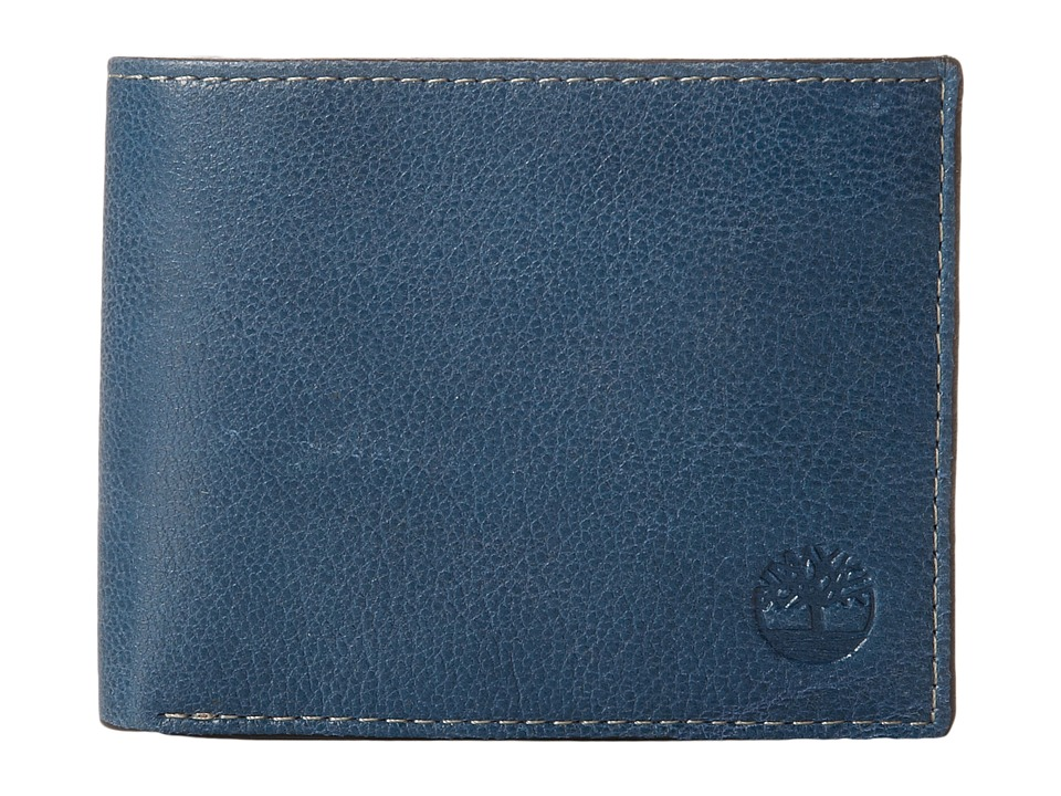 Timberland - Fine Break Passcase (Navy) Wallet Handbags