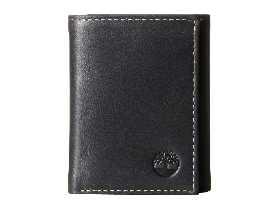 Timberland - Cloudy Trifold (Black) Wallet Handbags