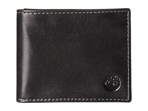Timberland - Fine Break Passcase (Black) Wallet Handbags