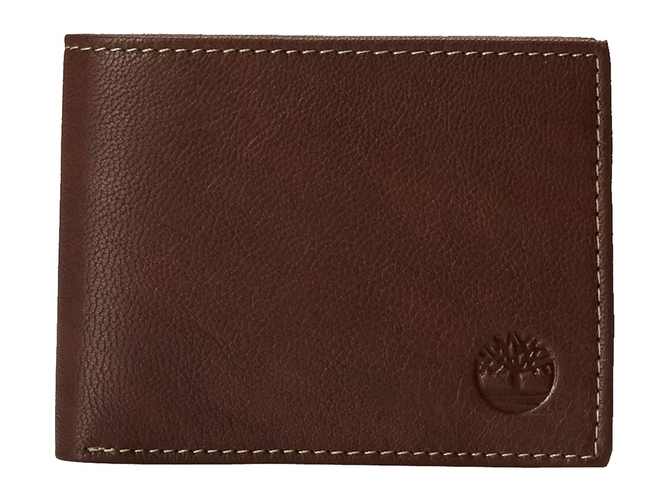 Timberland - Blix Slimfold (Brown) Wallet Handbags