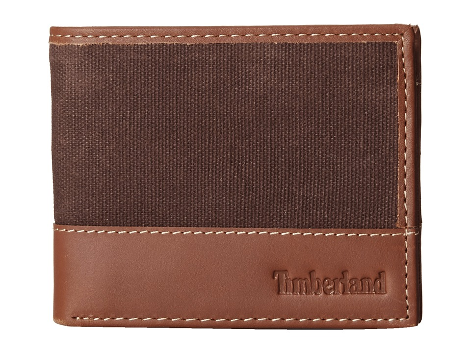 Timberland - Baseline Passcase (Dark Brown) Wallet Handbags