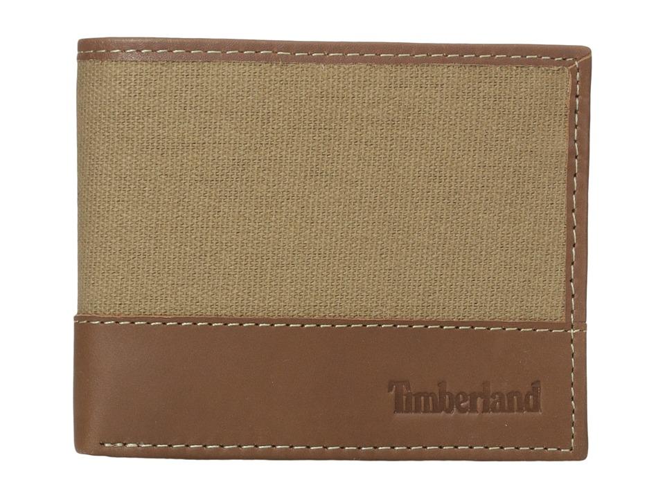 Timberland - Baseline Passcase (Khaki) Wallet Handbags