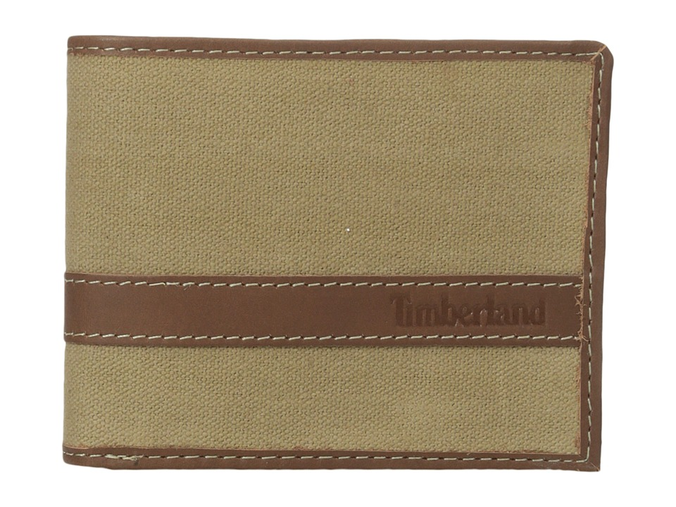 Timberland - Canvs Hunter Passcase (Khaki) Wallet Handbags