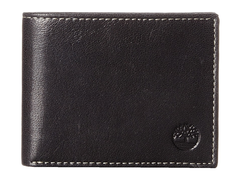 Timberland - Hudson Commuter (Black) Wallet Handbags