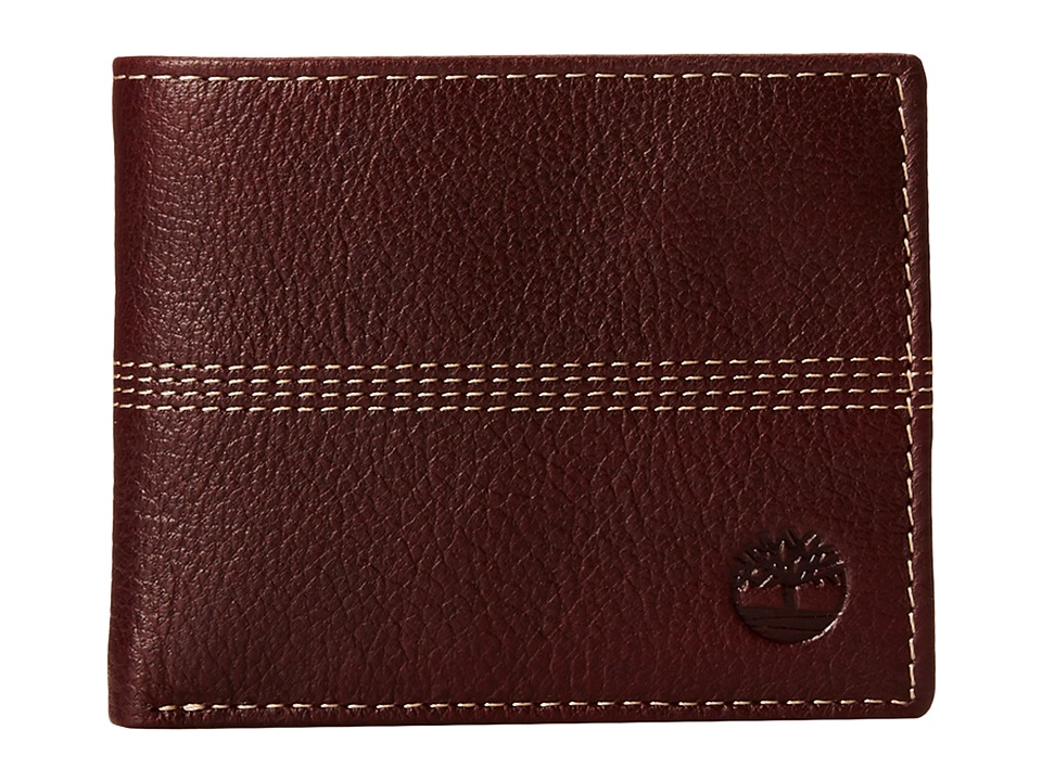 Timberland - Sportz Quad Passcase (Burgundy) Wallet Handbags