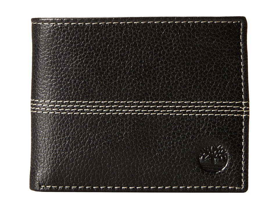 Timberland - Sportz Quad Passcase (Black) Wallet Handbags