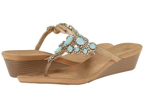 White Mountain - Chrysalis (Mint/Gold) Women's Shoes