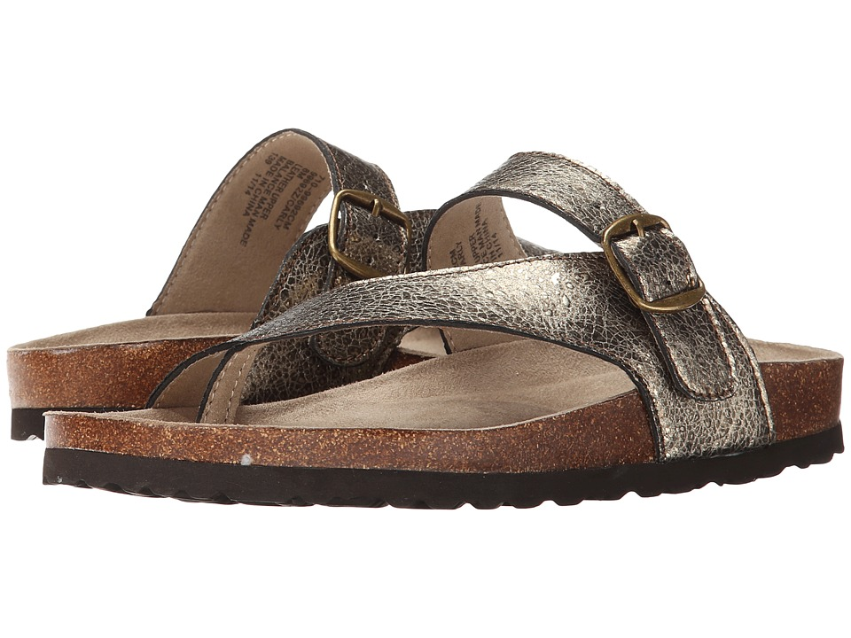 White Mountain - Carly (Gold Crackle) Women's Shoes