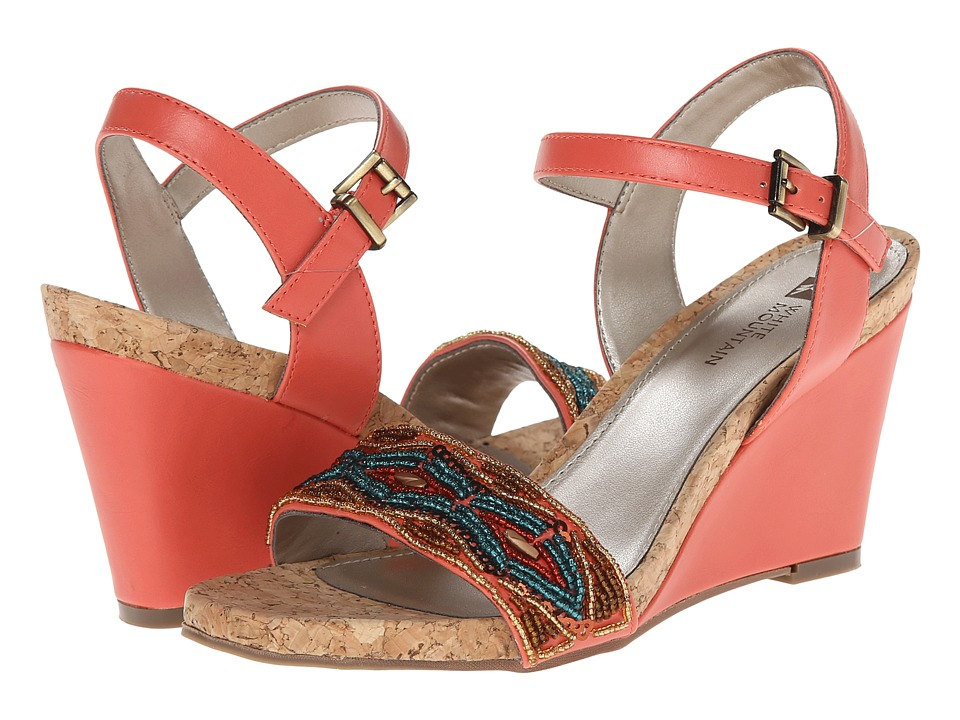 White Mountain - To Die For (Coral Multi) Women's Shoes