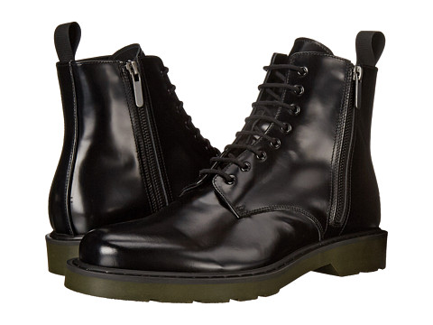 Alexander McQueen - Side Zip Boot (Black) Men's Boots