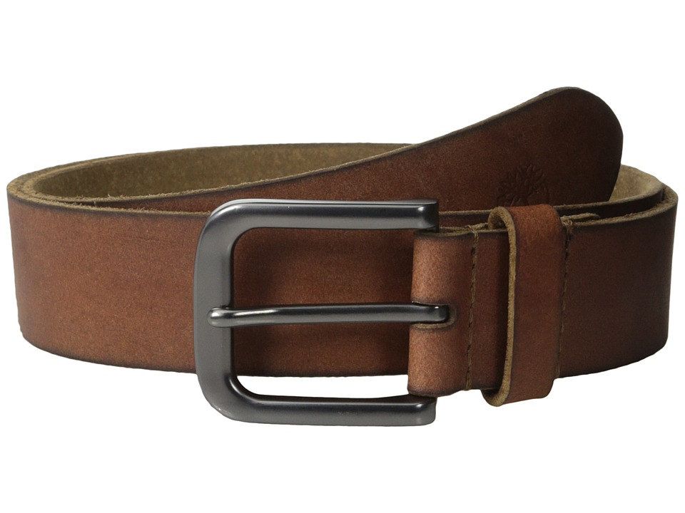 Timberland - 35MM Classic Jean Belt (Brown) Men's Belts
