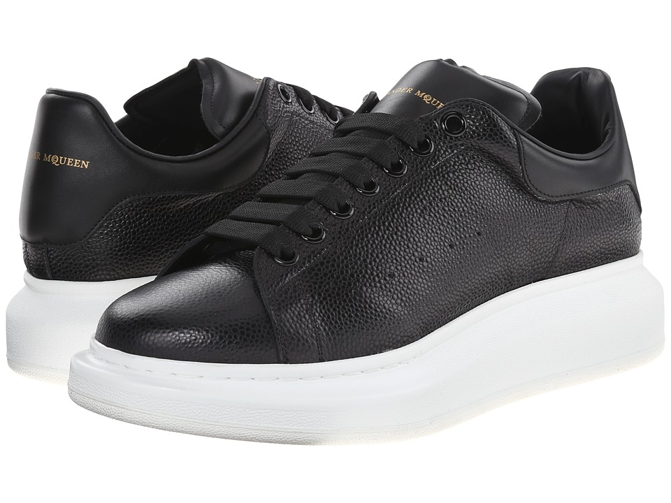 Alexander McQueen - Low Top Sneaker (Black) Men's Shoes